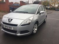 Peugeot 5008,6 months mot,7 seater,1.6 hdi dieseal,Very economicl car,2 previous owner drives brill