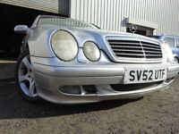 💥52 MERC Clk 200 KOMP 1.8 AUTO,MOTAUG 017,FULL HISTORY,VERY RELIABLE💥