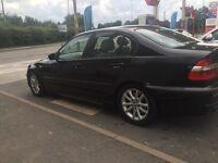 BMW 320D DIESEL MSPORTS M3 SPEC NEW SHAPE 1 OWNER BLACK 6 SPEED X2 KEYS PX C220 TDI FULL ELECTRICS
