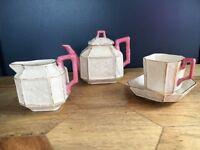 Really pretty pink tea set