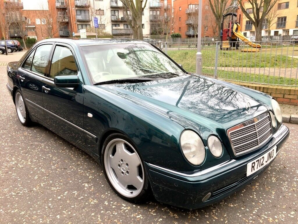 Mercedes E320 V6 Auto 220 Bhp Amg Body Kit 18 Inch Alloys 2000 Fuel Filter Showroom Condition