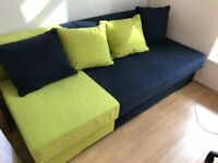 used pull out sofa but in very good condition for sale, £125