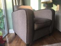 Retro/vintage style arm chair