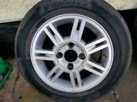 Ford fitting Alloy 155/65/14 YOKOHAMA Tyre