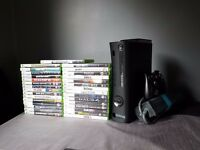 Xbox 360 Elite and games