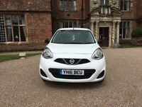 2016 NISSAN MICRA VIBE 5DR 1.2 PETROL **VERY ECONOMICAL AND RELIABLE + DRIVES LIKE NEW**