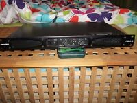 PULSE PXA-840 PROFESSIONAL POWER AMPLIFIER DJ AMP.