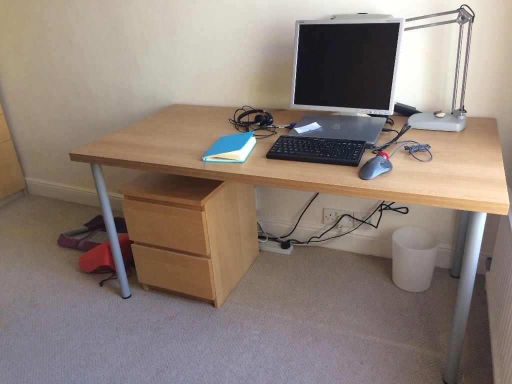 Linnmon adils corner table office linnmon adils corner table