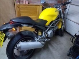 Ducati monster 620 ie new timing belt, new back tyre, 2 owners