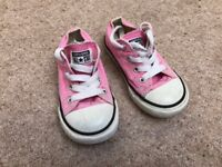 Girls shoes - converse all star - size 7