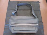 Calvin Klein shoulder bag in grey - Unused with dustbag.