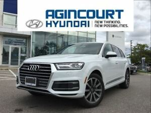 2017 Audi Q7 3.0T Progressiv/20 WHEELS/NAVI/7 PASS.