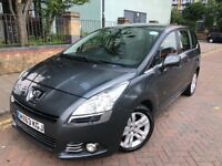 Peugeot 5008 2013 (63reg) Diesel, Automatic,7 Seater MPV XL PCO & MOT Uber Ready, Ford Galaxy,Sharan