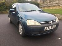 Full Year MOT Vauxhall Corsa Comfort 16v
