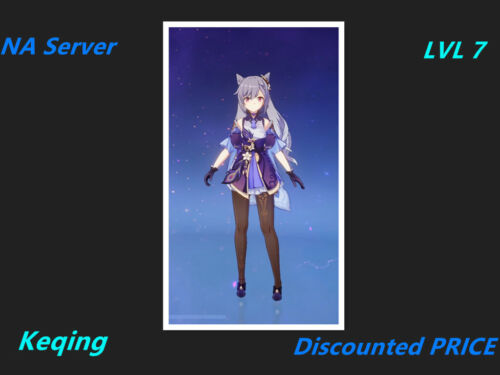 [Instant Delivery] Genshin Impact Keqing Starter Account  [NA] Server lvl 7