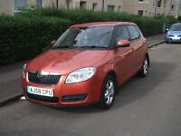 SKODA Fabia 2008 (58), 1.4 Diesel, 5 Door, Manual, FSH & 1 Year MOT. £30 Road Tax