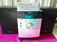 Sony hifi cmteh15 cd radio cassette speaker's remote