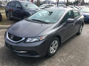 2015 Honda Civic Sedan LX | REAR CAM | CLEAN CARPROOF | BLUETOOT