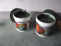 Ronseal Fence/Shed paint.