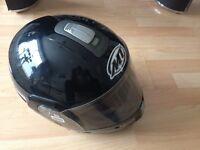 Motorcycle Helmet [MT Flux Solid - Gloss Black]