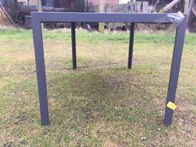 Ex display John Lewis dining table large modern dining table