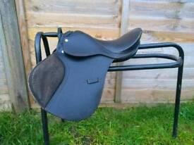 Tiny pony saddle