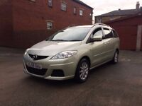 MAZDA 5 TS2 7 SEAT SERVICE HISTORY TESTED 12 MONTHS POWER STEERING AIR CONDITONING