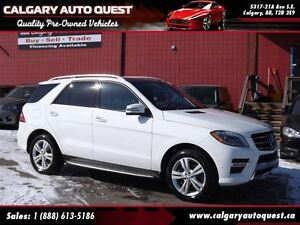 2015 Mercedes-Benz M-Class ML350 BlueTEC 4MATIC AWD/NAVI/B.CAM/L