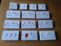 Used Electrical Sockets and Switches