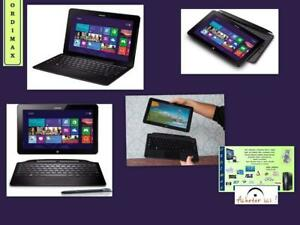 Samsung Tab 7 Smart PC Pro 700T ATIV Touchscreen Laptop/ Tablet / 2 in 1 Intel i5/ 128GB SSD / +Keyboard+ Screen Touch