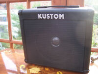 Kustom KBA15 Bass Amplifier.