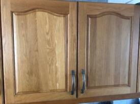 Solid wood kitchen units from £20 each