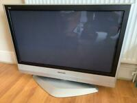 Panasonic TH-37PX60B Plasma HD TV with Remote (no screen burn or scratches)