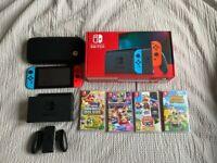 Nintendo Switch Console + Games Bundle