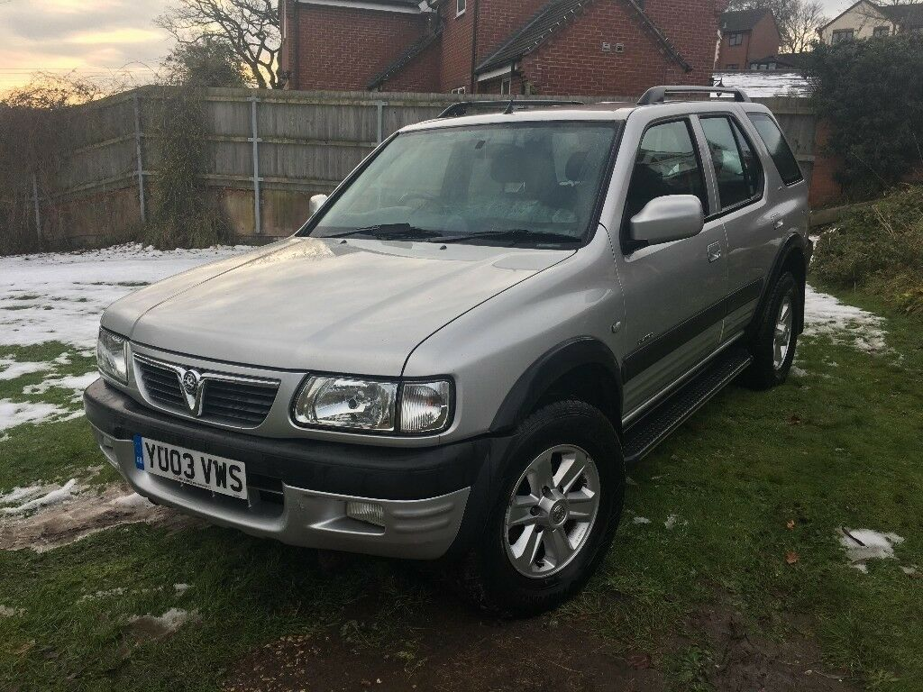 vauxhall frontera 4x4 2 2 diesel in bromyard herefordshire gumtree. Black Bedroom Furniture Sets. Home Design Ideas