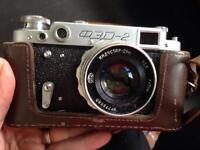 Russian Leica knockoff. OED 2 film camera