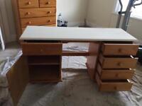Pine dressing table/ desk