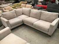 Brand new Copenhagen grey corner sofa