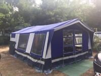 Trailer tent (sleeps 6)