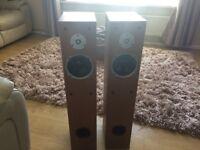 Floor stander speakers