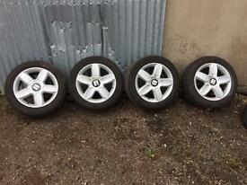 Seat alloys 5x112 leon golf scirocco jetta