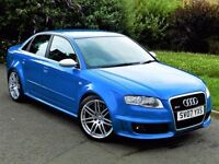 MASSIVE SPEC! AUDI RS4 4.2 QUATTRO - FSH - SAT NAV - BOSE - RECARO LEATHER WINGBACK BUCKET SEATS