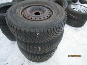 235/65R16 2 ONLY USED FIRESTONE SNOW TIRES ONLY