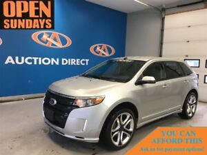 2013 Ford Edge SPORT! AWD! LEATHER! 22RIMS! FINANCE NOW!