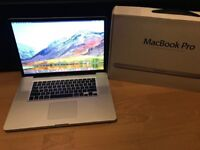 """Apple Macbook Pro 17"""" HD 250gb SSD+750GB HDD 8gb Boxed Office Photoshop +More Inc"""