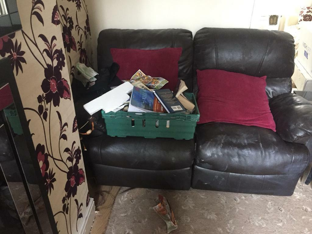 Free leather recliner sofas