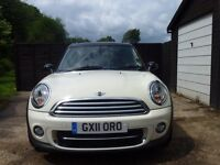 Mini Cooper clubman: perfect condition, heated leather seats, full dealer service history, genuine