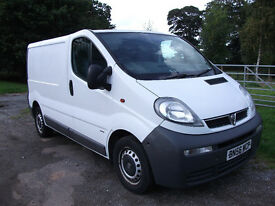 VAUXHALL VIVARO 2900 DTI SWB, LONG MOT, TAILGATE AND HIGH SECURITY LOCKS # NO VAT #