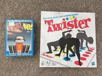 Twister and yes no game board games