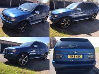 BMW X5 4.4I SPORT AUTO PETROL 2001